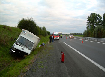 photo d'illustration d'accident sur l'autoroute